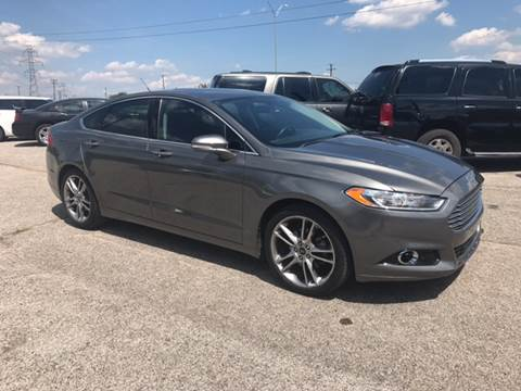 2013 Ford Fusion for sale at LLANOS AUTO SALES in Dallas TX