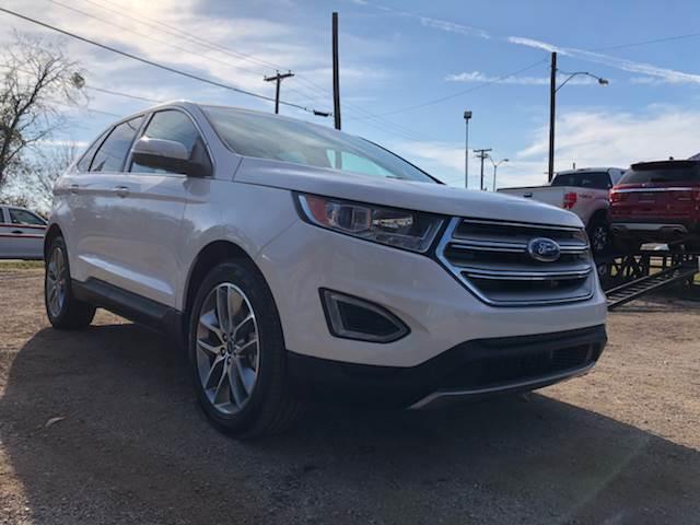Ford Edge Titanium In Dallas TX LLANOS AUTO SALES - Ford dallas