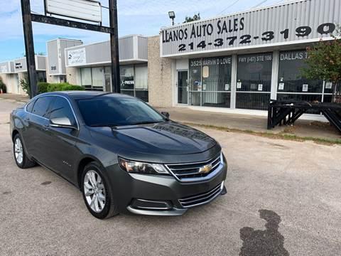 2016 Chevrolet Impala for sale in Dallas, TX