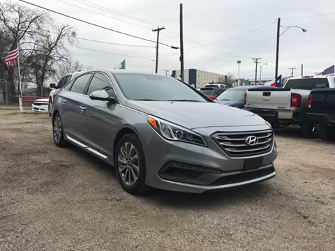 2016 Hyundai Sonata for sale at LLANOS AUTO SALES - JEFFERSON in Dallas TX