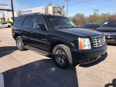 2003 Cadillac Escalade for sale at LLANOS AUTO SALES in Dallas TX
