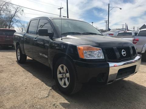 2015 Nissan Titan for sale at LLANOS AUTO SALES - JEFFERSON in Dallas TX