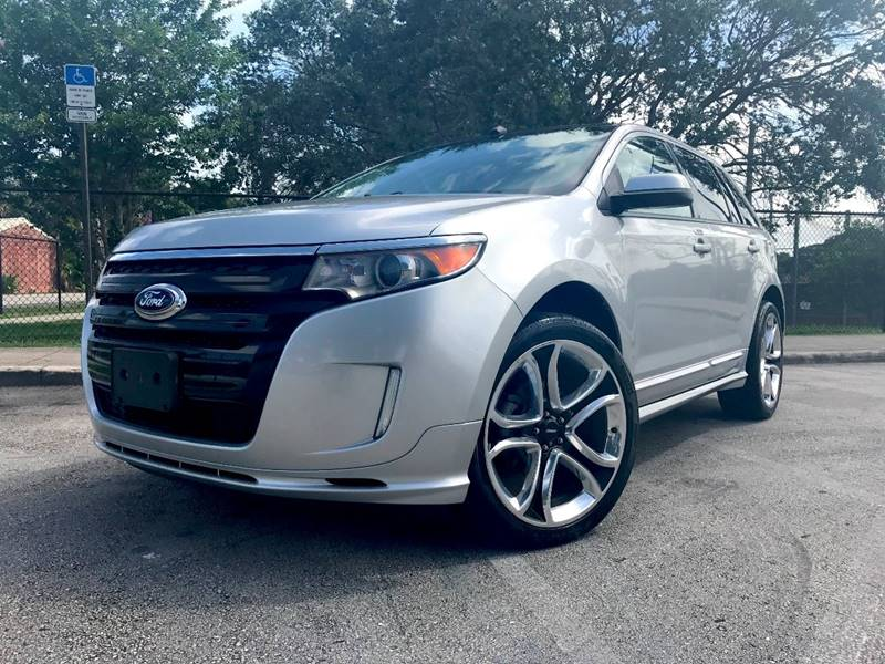2013 Ford Edge for sale at E Z AUTO & TRUCK  PLAZA II INC in Davie FL