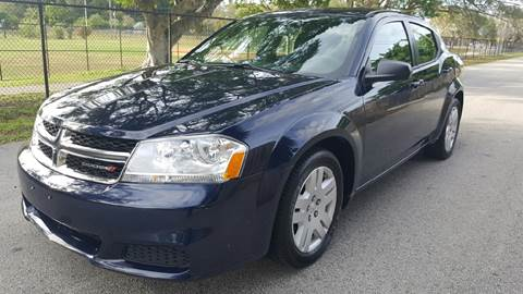 2014 Dodge Avenger for sale at E Z AUTO & TRUCK  PLAZA II INC in Davie FL