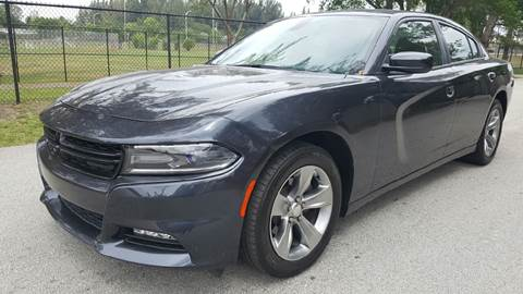 2016 Dodge Charger for sale at E Z AUTO & TRUCK  PLAZA II INC in Davie FL