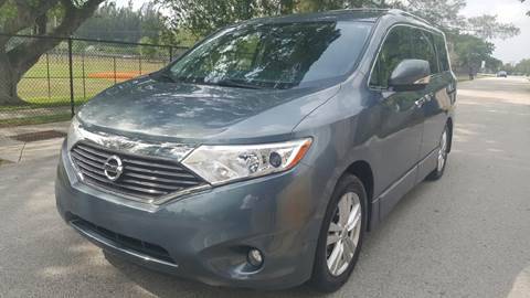 2013 Nissan Quest for sale at E Z AUTO & TRUCK  PLAZA II INC in Davie FL