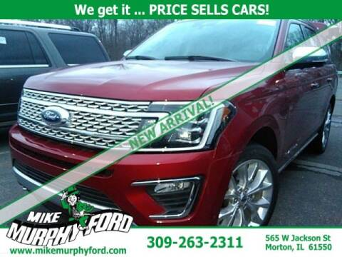 2019 Ford Expedition for sale at Mike Murphy Ford in Morton IL