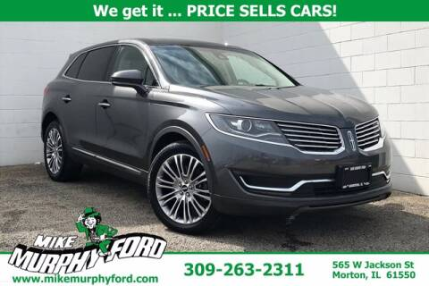 2018 Lincoln MKX for sale at Mike Murphy Ford in Morton IL