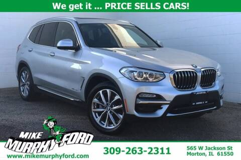 2018 BMW X3 for sale at Mike Murphy Ford in Morton IL