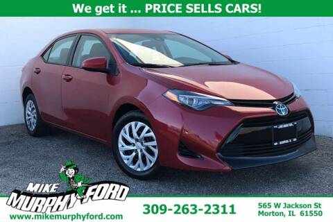 2017 Toyota Corolla for sale at Mike Murphy Ford in Morton IL