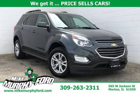 2017 Chevrolet Equinox for sale at Mike Murphy Ford in Morton IL