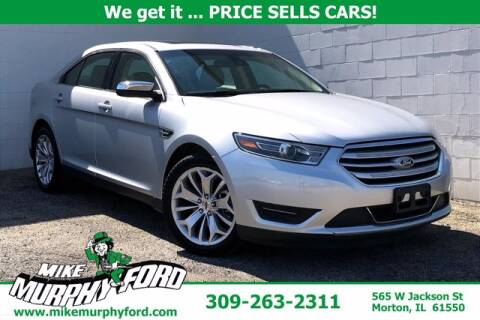 2019 Ford Taurus for sale at Mike Murphy Ford in Morton IL