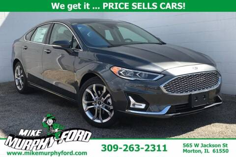 2020 Ford Fusion Hybrid for sale at Mike Murphy Ford in Morton IL