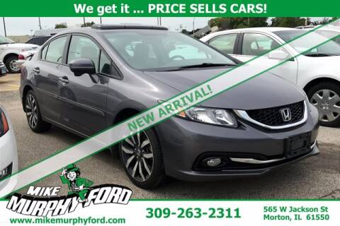 2014 Honda Civic for sale at Mike Murphy Ford in Morton IL