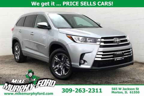 2019 Toyota Highlander for sale at Mike Murphy Ford in Morton IL