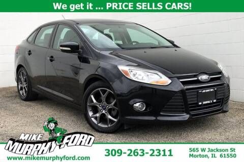2014 Ford Focus for sale at Mike Murphy Ford in Morton IL
