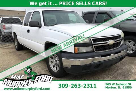 2007 Chevrolet Silverado 1500 Classic for sale at Mike Murphy Ford in Morton IL