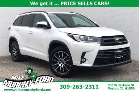 2017 Toyota Highlander for sale at Mike Murphy Ford in Morton IL