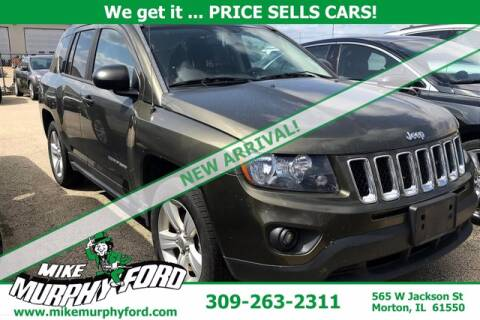 2016 Jeep Compass for sale at Mike Murphy Ford in Morton IL