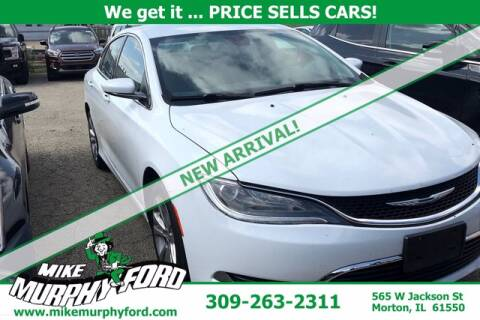 2015 Chrysler 200 for sale at Mike Murphy Ford in Morton IL