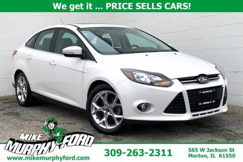 2013 Ford Focus for sale at Mike Murphy Ford in Morton IL