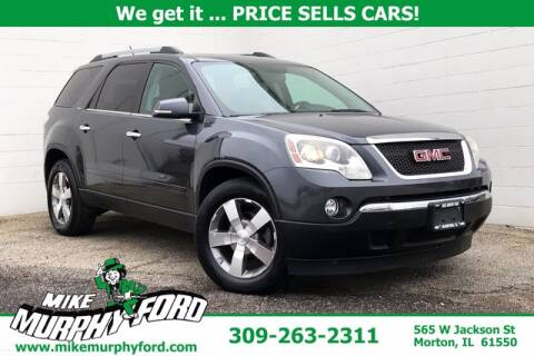 2011 GMC Acadia for sale at Mike Murphy Ford in Morton IL