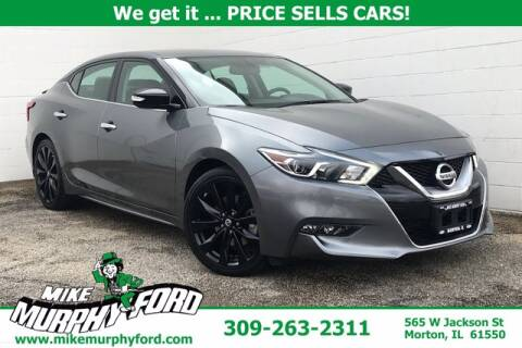 2017 Nissan Maxima for sale at Mike Murphy Ford in Morton IL
