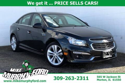 2016 Chevrolet Cruze Limited for sale at Mike Murphy Ford in Morton IL