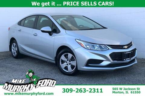 2018 Chevrolet Cruze for sale at Mike Murphy Ford in Morton IL