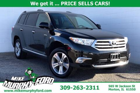 2012 Toyota Highlander for sale at Mike Murphy Ford in Morton IL