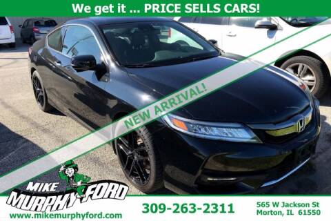 2016 Honda Accord for sale at Mike Murphy Ford in Morton IL