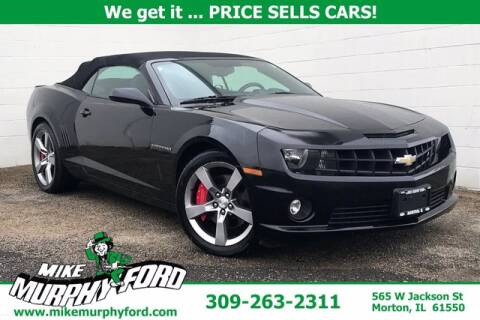 2011 Chevrolet Camaro for sale at Mike Murphy Ford in Morton IL