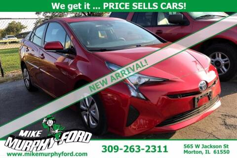 2018 Toyota Prius for sale at Mike Murphy Ford in Morton IL