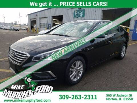 2017 Hyundai Sonata for sale at Mike Murphy Ford in Morton IL