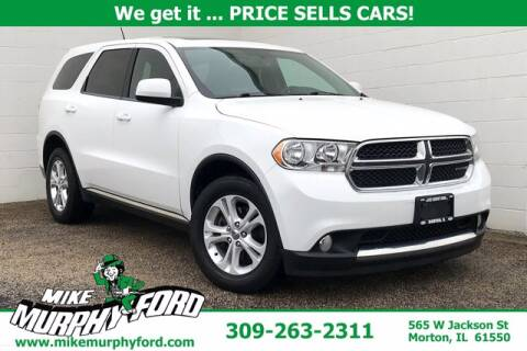 2013 Dodge Durango for sale at Mike Murphy Ford in Morton IL