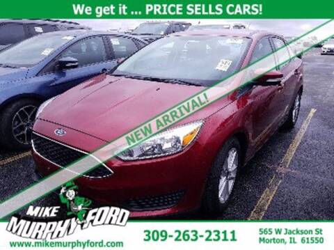 2016 Ford Focus for sale at Mike Murphy Ford in Morton IL