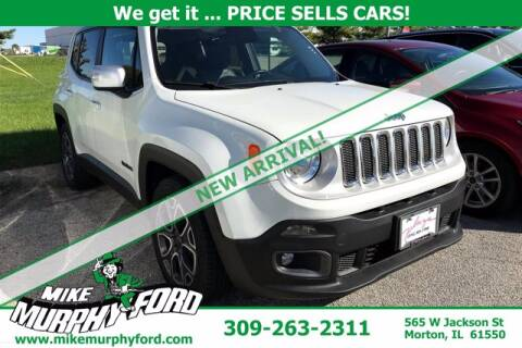 2016 Jeep Renegade for sale at Mike Murphy Ford in Morton IL