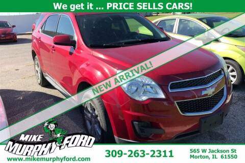 2013 Chevrolet Equinox for sale at Mike Murphy Ford in Morton IL