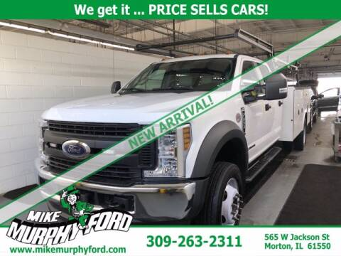 2019 Ford F-550 Super Duty for sale at Mike Murphy Ford in Morton IL