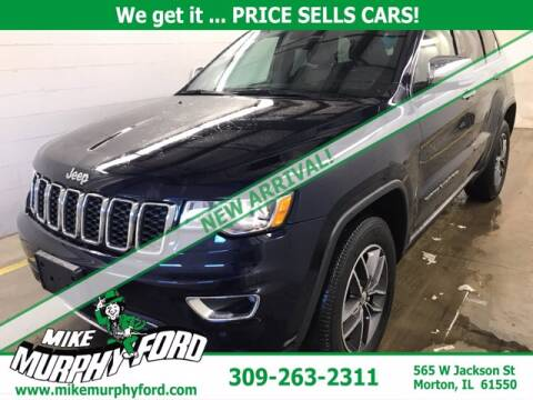 2017 Jeep Grand Cherokee for sale at Mike Murphy Ford in Morton IL