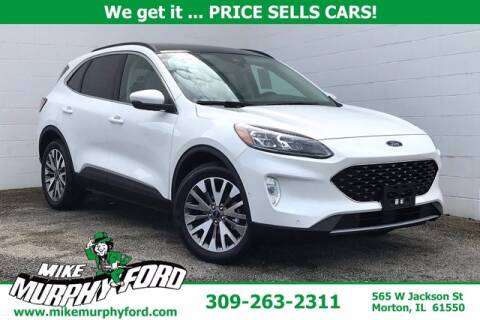 2020 Ford Escape Hybrid for sale at Mike Murphy Ford in Morton IL