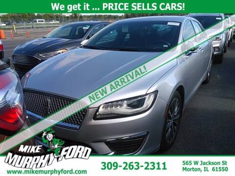 2017 Lincoln MKZ for sale at Mike Murphy Ford in Morton IL