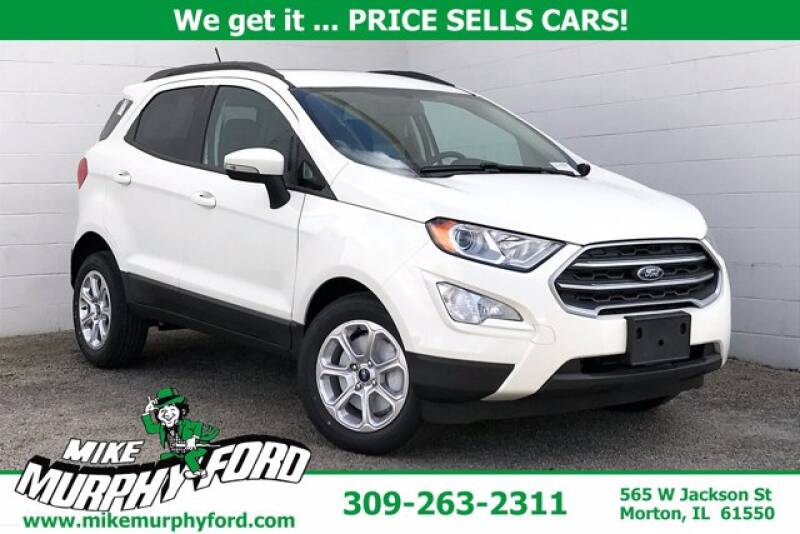 2020 Ford EcoSport for sale at Mike Murphy Ford in Morton IL
