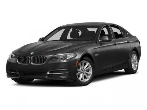 2015 BMW 5 Series for sale at Mike Murphy Ford in Morton IL