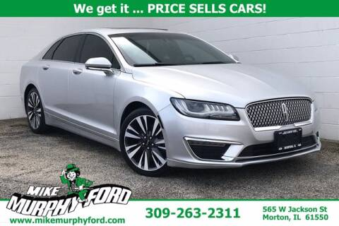 2018 Lincoln MKZ for sale at Mike Murphy Ford in Morton IL