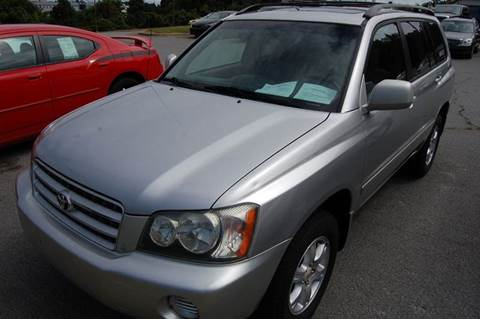 2001 Toyota Highlander for sale at Modern Motors - Thomasville INC in Thomasville NC