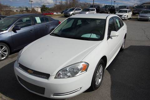 Used 2014 chevrolet impala for sale in north carolina for Modern motors thomasville nc
