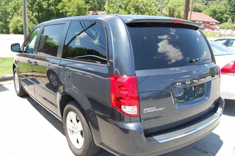 2014 dodge grand caravan se 4dr mini van in thomasville nc for Modern motors thomasville nc