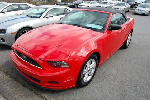 2013 Ford Mustang for sale at Modern Motors - Thomasville INC in Thomasville NC