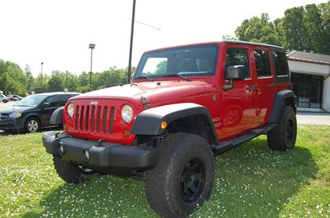 2011 Jeep Wrangler Unlimited for sale at Modern Motors - Thomasville INC in Thomasville NC